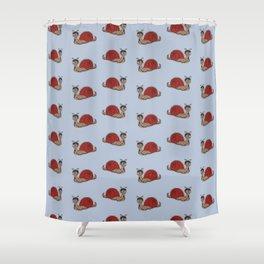 Hannibal Snail Shower Curtain