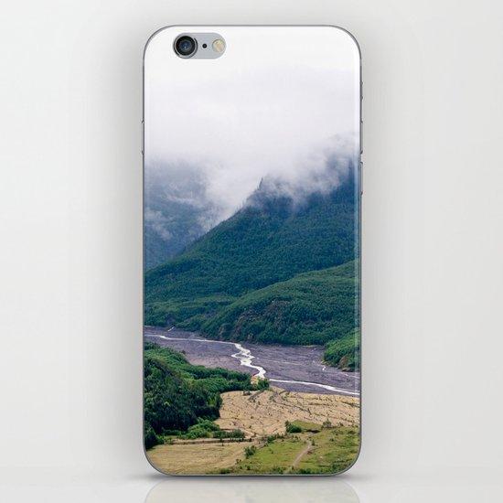 Mount St. Helen's River iPhone & iPod Skin