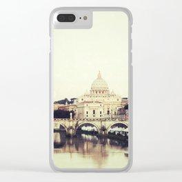 Tiber River Clear iPhone Case