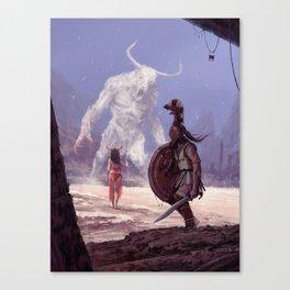 Ariadne - true story Canvas Print