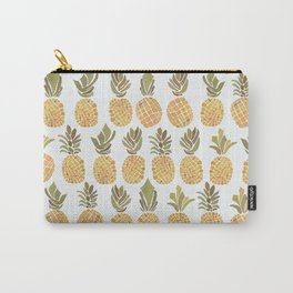 Vintage Pineapple Show Carry-All Pouch