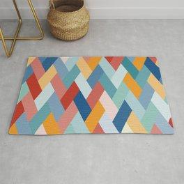 Colorful Geometry VI Rug