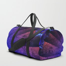 Pleated fantasy forest Duffle Bag