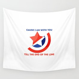 Till The End Of The Line Wall Tapestry