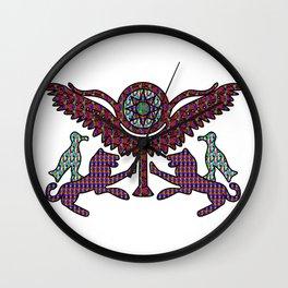seal of Shaushtatar of mitanni Wall Clock