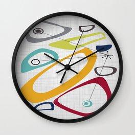 Mid Century Modern Art Wall Clock