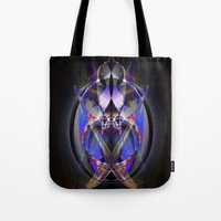 ninja Tote Bags featuring Ninja by Robin Curtiss