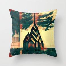 Philadelphia Prisms Throw Pillow