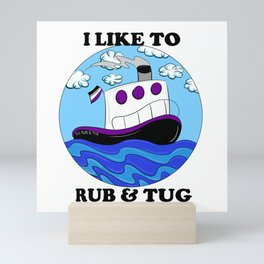 Rub N Tugboat- ACE2 Mini Art Print