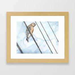 BirdonWire Framed Art Print