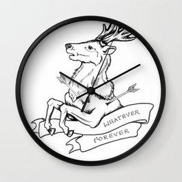 Modern Baseball // Rock Bottom Wall Clock