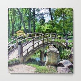 Cross the Bridge Metal Print
