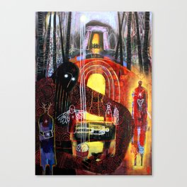 Gift Of The Smithy Canvas Print