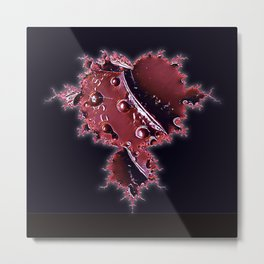 The Iron Heart Metal Print