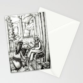 Poetry club Stationery Cards