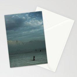 Mushroom Sunset Stationery Cards