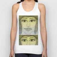 sketch Tank Tops featuring sketch by Shelby Claire