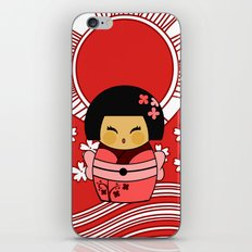 Kokeshi Sakura iPhone & iPod Skin