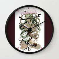 tarot Wall Clocks featuring Star Tarot by A Hymn To Humanity