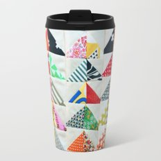 Flying Geese Quilt Pattern Travel Mug