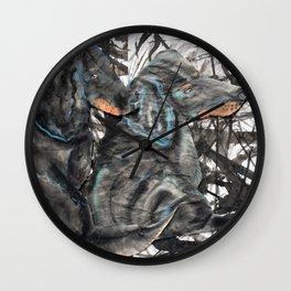 Doxie Friends Wall Clock