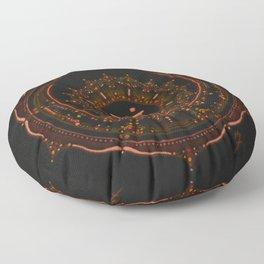 Sacral Chakra Floor Pillow