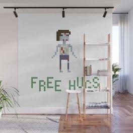 free hugs 4 Wall Mural
