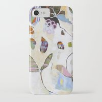 "flora bowley iPhone & iPod Cases featuring ""Letting Go"" Original Painting by Flora Bowley by Flora Bowley"
