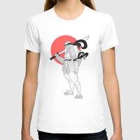 ninja turtle T-shirts featuring A Female Ninja Turtle by Rach-Draws