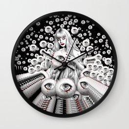 Planetary Echoes Wall Clock