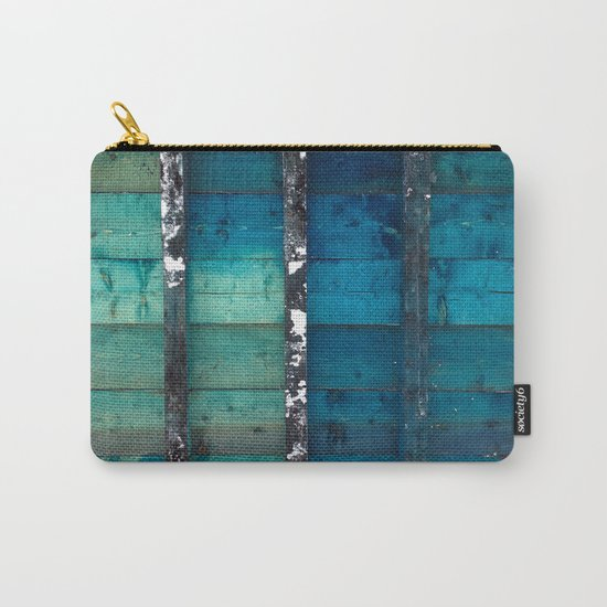 cold wooden palette Carry-All Pouch