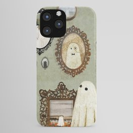 There's A Ghost in the Portrait Gallery iPhone Case