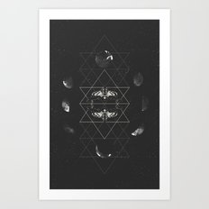 Phases of Death Art Print