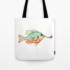 River Sunfish with a Pipe Tote Bag