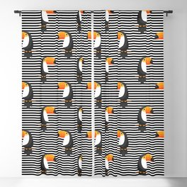 TOUCAN tropical toucans Blackout Curtain