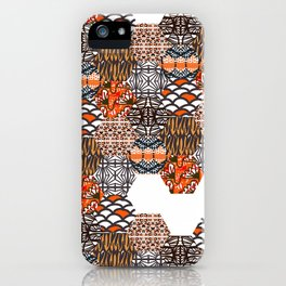 Tribal Collage iPhone Case