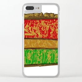 Indian Square Clear iPhone Case