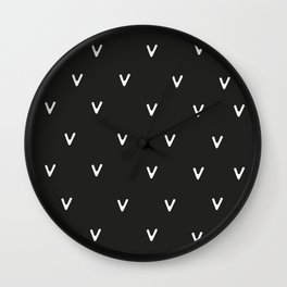 Woodland Up Close Wall Clock