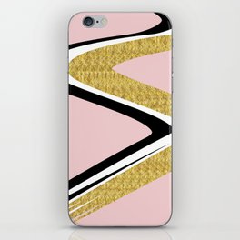 Abstract Blush II #kirovair #design #minimal #society6 #buyart iPhone Skin