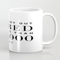 bed Mugs featuring BED by I Love Decor