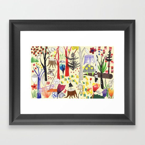 Magical Wood Framed Art Print