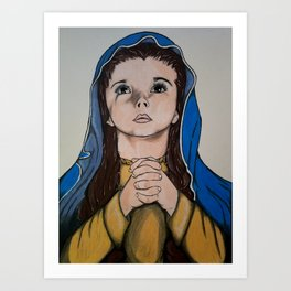 The Holy Child Mary Art Print