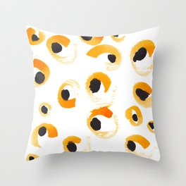 Leopard spots Throw Pillow