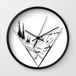 Fueled By Nature. Wall Clock