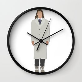 Men's Fashion Drawing/Illustration Wall Clock
