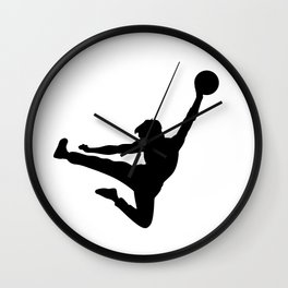 #TheJumpmanSeries, Bruce the Little Phoenix Wall Clock