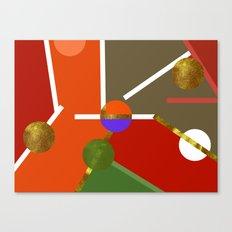 MAP PART N1 Canvas Print