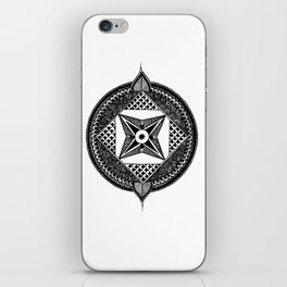 Simple Mandala iPhone Skin