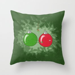 Shiny Balls Throw Pillow