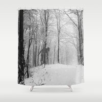 lonely Shower Curtains featuring Lonely... by NDTank